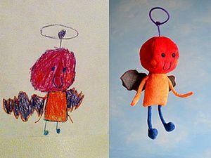 Ожившие детские рисунки Wendy Tsao. Ярмарка Мастеров - ручная работа, handmade.