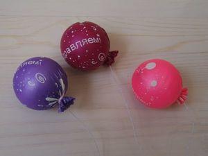 Мастерим «воздушные» шарики для игрушек. Ярмарка Мастеров - ручная работа, handmade.