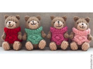 Мастер-класс: вышиваем улыбчивую мордочку вязаной игрушке. Ярмарка Мастеров - ручная работа, handmade.