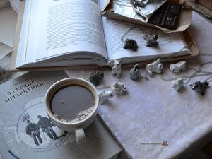 Полярные звери, зимние кулоны. Ярмарка Мастеров - ручная работа, handmade.