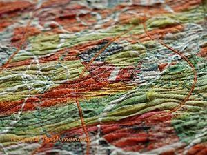 Делаем арт ткань для своих работ. Ярмарка Мастеров - ручная работа, handmade.