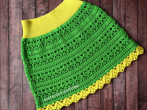 Видео мастер-класс: вяжем крючком ажурную юбочку для девочки. Ярмарка Мастеров - ручная работа, handmade.
