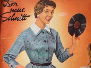 Schwabe der neue Schnitt — журнал мод 12/1954. Ярмарка Мастеров - ручная работа, handmade.
