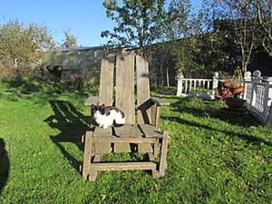 Мастерим кресло для сада. Ярмарка Мастеров - ручная работа, handmade.