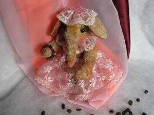 Кофейно -розовая Мадам. Ярмарка Мастеров - ручная работа, handmade.