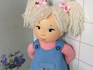Вальдорфская кукла Настенька. Ярмарка Мастеров - ручная работа, handmade.