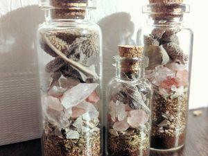 Магические Бутылочки или Ведьмины Бутылки. Ярмарка Мастеров - ручная работа, handmade.