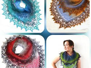 Ответ на вопрос про мини шали!. Ярмарка Мастеров - ручная работа, handmade.