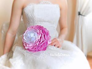 Создаем нежную гламелию, или Букет невесты своими руками. Ярмарка Мастеров - ручная работа, handmade.