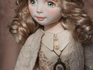 Таисия, авторская текстильная кукла. Ярмарка Мастеров - ручная работа, handmade.