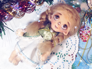 How To Sew Dress For Textile Doll. Livemaster - handmade