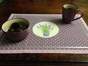 How to Sew a Provence Table Napkin. Livemaster - handmade
