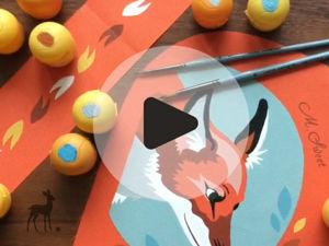 «Лесная встреча»: видеоотчет. Ярмарка Мастеров - ручная работа, handmade.