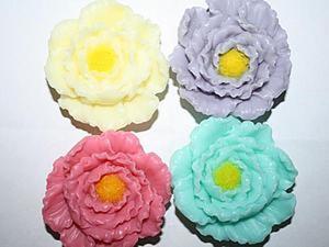 """Делаем объемное мыло """"Цветок"""" с помощью молда. Ярмарка Мастеров - ручная работа, handmade."""