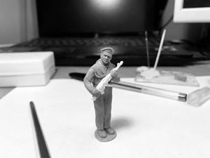 Изготовление модели моряка. Ярмарка Мастеров - ручная работа, handmade.