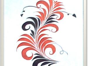 Рисуем завиток. Ярмарка Мастеров - ручная работа, handmade.