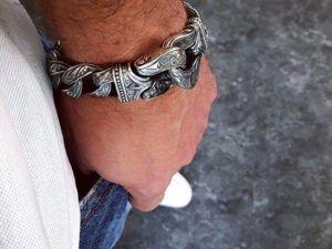 Советы по ношению серебряного браслета. Ярмарка Мастеров - ручная работа, handmade.
