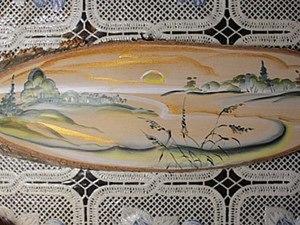 Видео мастер-класс: роспись спила дерева. Ярмарка Мастеров - ручная работа, handmade.