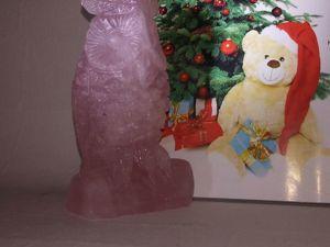 Резная совушка из розового кварца  , отличный подарок!. Ярмарка Мастеров - ручная работа, handmade.