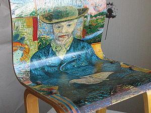 Новая жизнь старого стульчика. Ярмарка Мастеров - ручная работа, handmade.