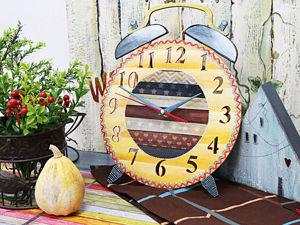 Делаем часы для детской комнаты в сканди-стиле. Ярмарка Мастеров - ручная работа, handmade.