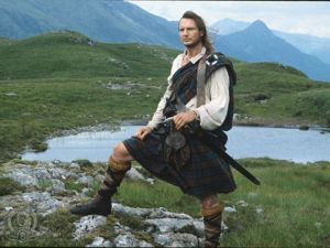 Scarred and Kilted: Men Also Wear Skirts. Livemaster - handmade