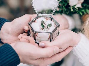 Как на свадьбу  украсить шкатулку  внутри?. Ярмарка Мастеров - ручная работа, handmade.