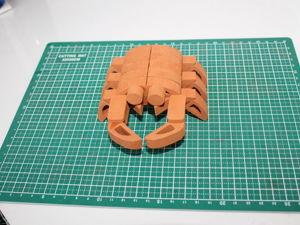 Создание керамической модели  «Краб». Ярмарка Мастеров - ручная работа, handmade.