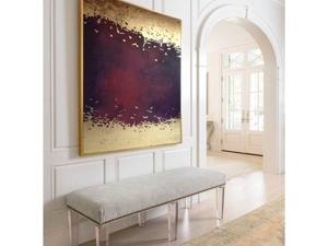 Интерьерная картина  «Золотая фуксия». Ярмарка Мастеров - ручная работа, handmade.
