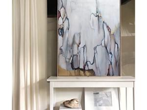 Картина  «Осенний снегопад». Ярмарка Мастеров - ручная работа, handmade.