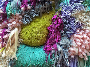 Bright Wave: Stunning Tapestries by Judit Just. Livemaster - handmade