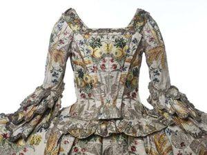 Уникальное шелковое платье Ann Fanshawe. Англия, 18 век. Ярмарка Мастеров - ручная работа, handmade.