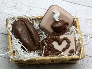 Новые формы в наборе мыла Люблю кофе. Ярмарка Мастеров - ручная работа, handmade.
