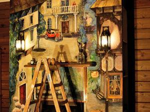 Роспись камина в частном доме. Ярмарка Мастеров - ручная работа, handmade.