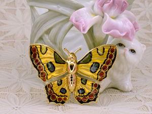 Чудесные винтажные бабочки, стрекозки и мушки на лето!. Ярмарка Мастеров - ручная работа, handmade.