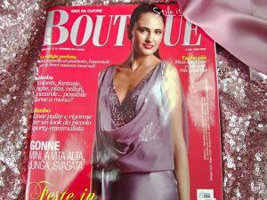 Журнал La mia Boutique. Ярмарка Мастеров - ручная работа, handmade.