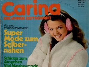 Burda Carina 12 1980 (декабрь). Ярмарка Мастеров - ручная работа, handmade.