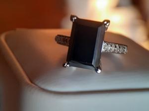 «Черный бархат»  кольцо — видео-обзор. Ярмарка Мастеров - ручная работа, handmade.