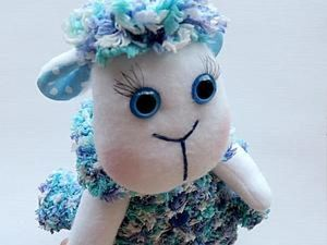 Создаем овечку в шубе. Ярмарка Мастеров - ручная работа, handmade.