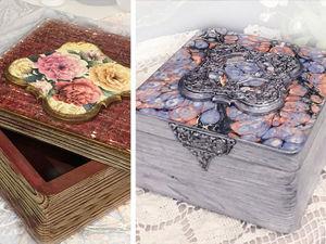 Переделываем шкатулку — из старого в новое. Ярмарка Мастеров - ручная работа, handmade.