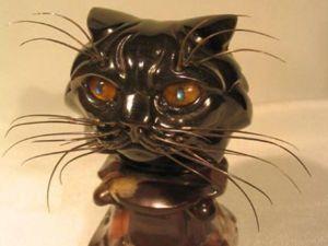 Очаровательные коты, выполненные в камнерезной пластике. Ярмарка Мастеров - ручная работа, handmade.