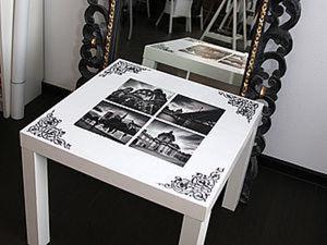 Декупаж. Как мы превратили старый стол в произведение искусства. Ярмарка Мастеров - ручная работа, handmade.