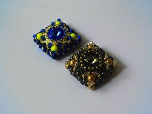 Video Tutorial: Making ''Diana'' Brooch of Beads. Livemaster - handmade