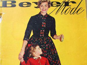 Beyer mode- 10 /1958. Ярмарка Мастеров - ручная работа, handmade.