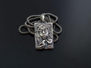 Нанесение патины на серебро (искусственное чернение серебра). Ярмарка Мастеров - ручная работа, handmade.