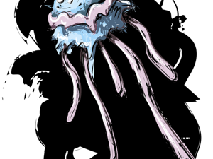День 168. Векторная графика  «Сладкая медуза». Ярмарка Мастеров - ручная работа, handmade.