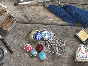 Кнопки из стекла ручной работы (лампворк). Ярмарка Мастеров - ручная работа, handmade.