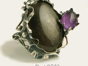 Кольцо  «Цветок». Ярмарка Мастеров - ручная работа, handmade.