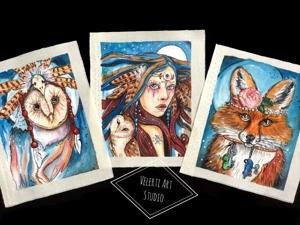 Акция- Три набора ручной росписи!. Ярмарка Мастеров - ручная работа, handmade.