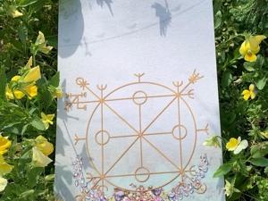 Мини копия системы Рунического Полотна. Ярмарка Мастеров - ручная работа, handmade.